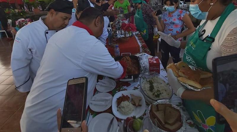 El municipio de Managua ganó el primer lugar en el festival departamental de  sabores de diciembre