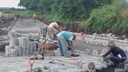Ciudad Sandino:Construcción de 10 calles en el Barrio Tomás Borge.