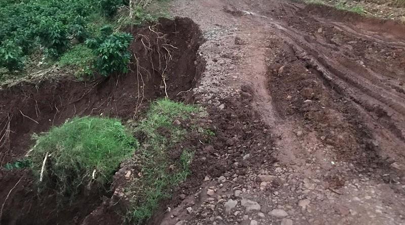 Camino hacia Plan de Grama, Jinotega