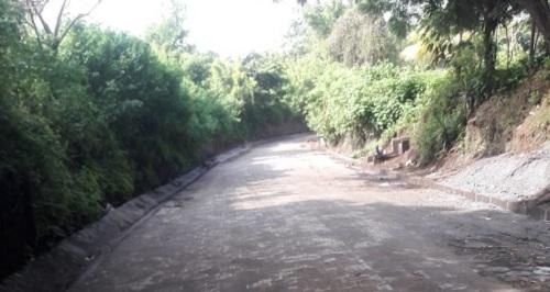 Ticuantepe: Dos nuevas calles en la comunidad Los Ríos.