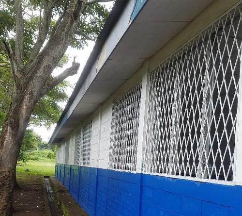 El Rosario: Mejoras en el centro escolar Madre Teresa de Calcuta en el Barrio Sector #1.