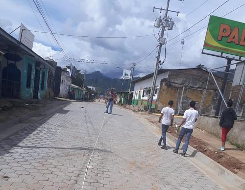 Jalapa: Construcción de nueve calles en los barrios Patricio Rocha, José Abraham Soza y Jeaneth López.