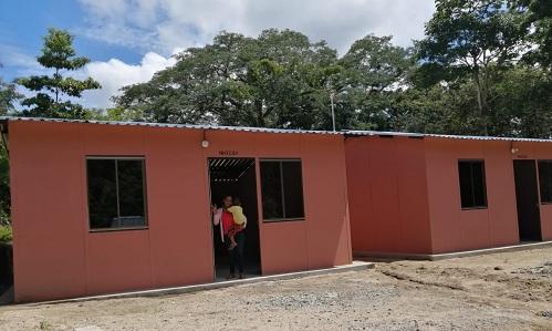 En El Jícaro se asignarán 14 viviendas  en el barrio Familias Unidas y en la comarca El Varillal