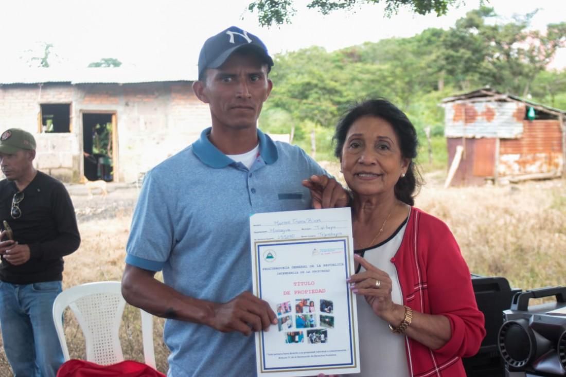 Ciudad Darío:Títulos de propiedad a miembros del Sandinismo Histórico, como defensores de la Patria