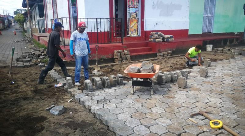 Sébaco: Jornada de limpieza coordinada con el Minsa en la casa de atención para personas con necesidades especiales.