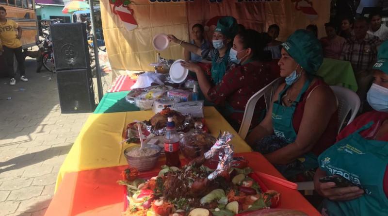 Festival de sabores en Somotillo