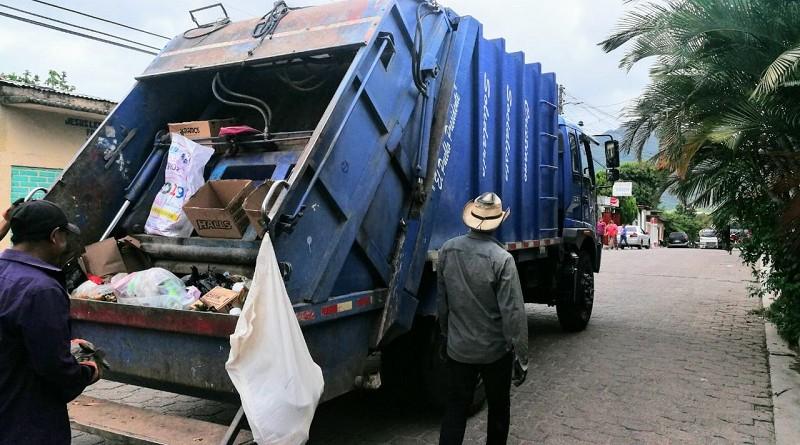 Se aseguró un rol de recolección de basura para estos días festivos