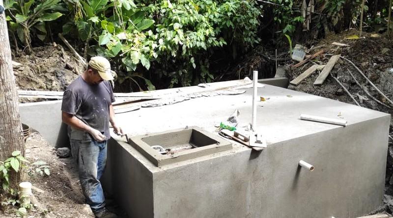En Quilalí  construcción  de sistema de abastecimiento (Mini acueducto por gravedad, Mag) en la comunidad  Machones Arriba