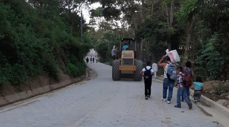 En Dipilto Viejo la alcaldía construyó cuatro nuevas calles