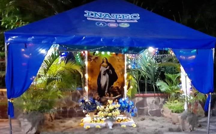 Actividades marianas y navideñas en fulgor en Somoto