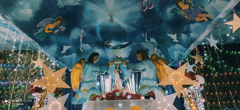 Altar en San Juan de Nicaragua