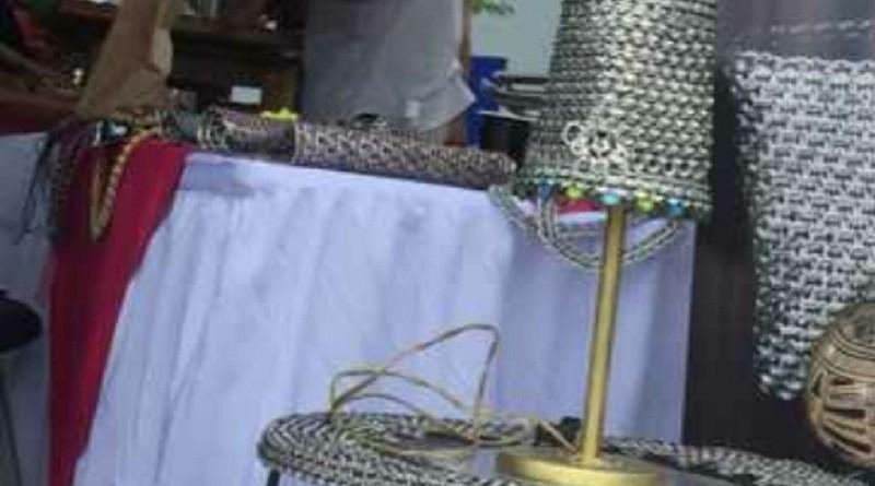 Jerry Rivera de Rivas ganó primer lugar con material reciclado