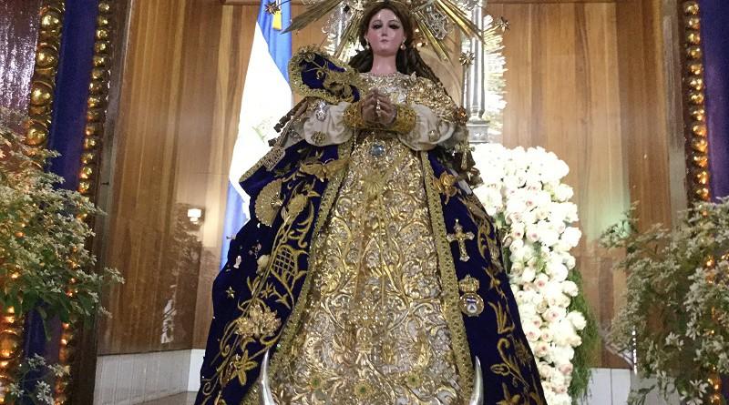 Serenata el 5 de diciembre  a la Virgen del Trono patrona de Nicaragua