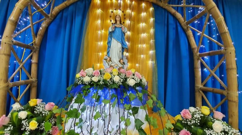 En Inifom: Rezo de la Novena de la Purísima inició con piedad y  concluyó con esa misma devoción
