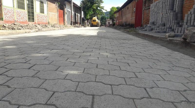 Tres calles adoquinadas se inaugurarán en Achuapa en las Zonas #1 y 3.