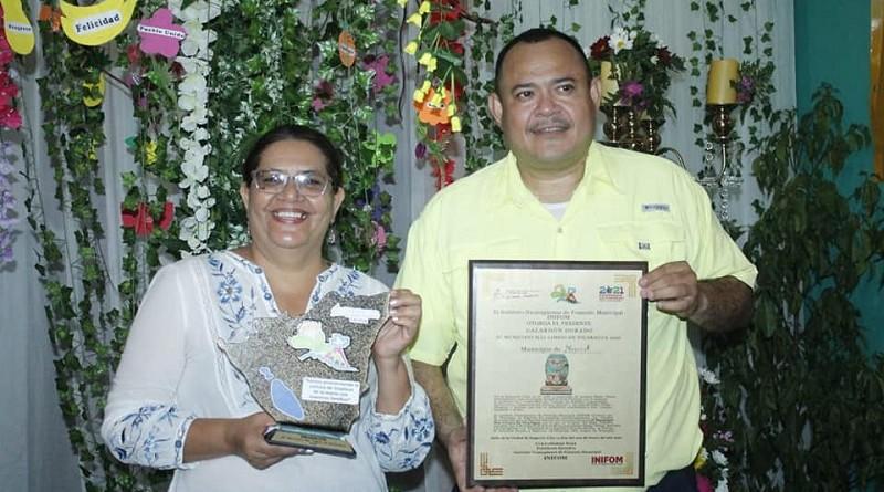 Nagarote  recibe Galardón Dorado.Por el esfuerzo de las familias y alcaldía es el Municipio Más Limpio del país