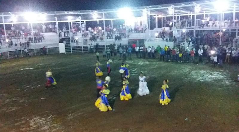 Inauguración de la barreramunicipal, en Acoyapa.