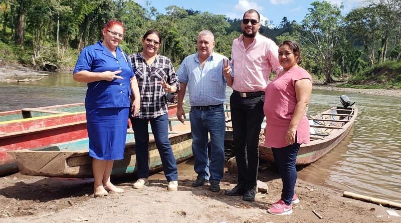 Sitios de singular atractivo turístico recorrió presidenta del Inifom en San José de Bocay