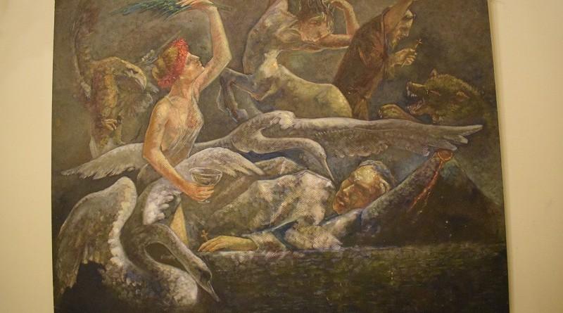 Regia  exposición  de  piezas de arte dedicadas a Rubén Darío