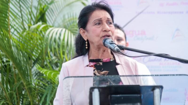 Alcaldesa de Ciudad darío Lesbia Treminio