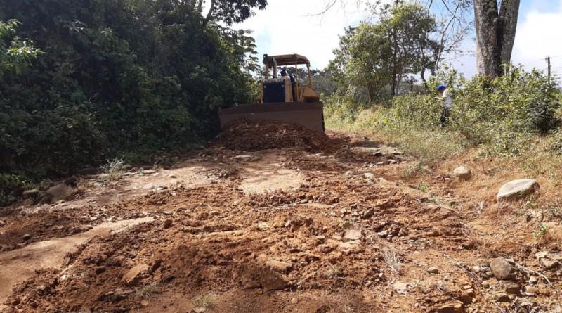 San Juan del Sur: Avanza reparación en el tramo  El Roble- San Jeronimo,-Fatima