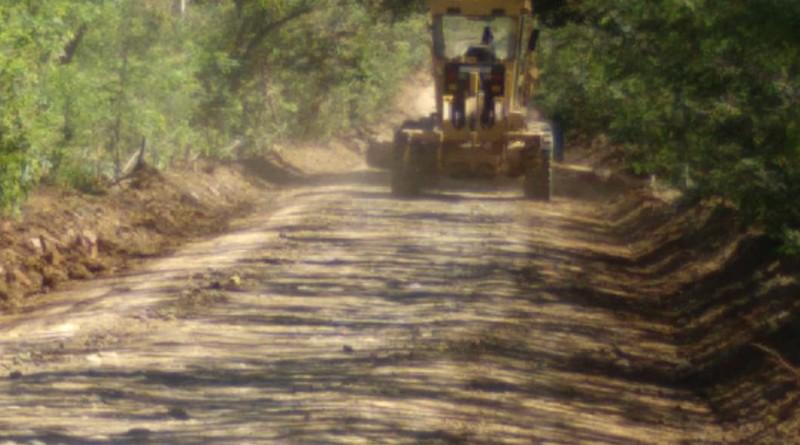 Rivas: Inicio de reparación de camino en el tramo Genízaro- Las Pampas-La Virgen