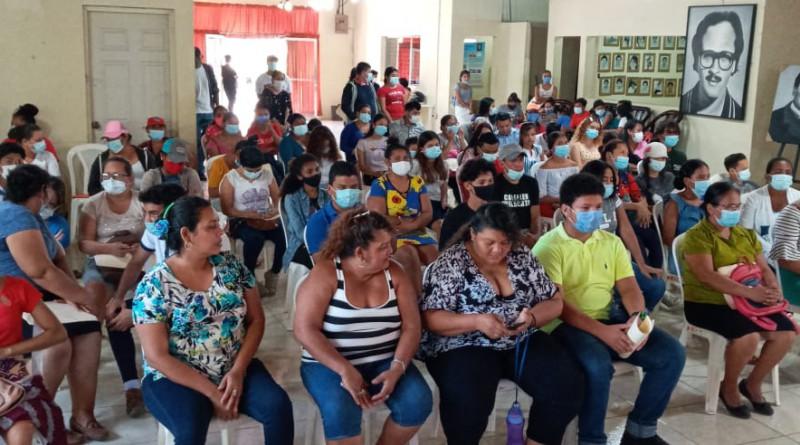 En el lanzamiento de la Escuela municipal de Oficio en Tipitapa