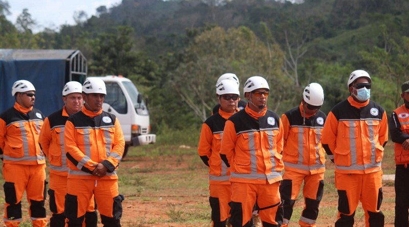 En las Quebradas, Siuna en el lanzamiento de la Cruzada Nacional  de prevención y control de incendios forestales y agropecuarios