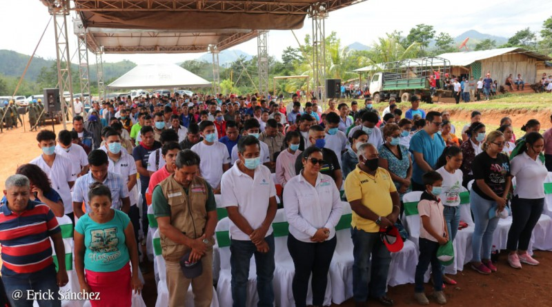 Lanzan campaña de prevención y control de incendios forestales y agropecuarios en Las Quebradas, Siuna,