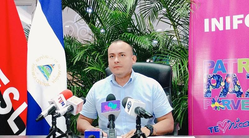 Director general del Inifom, Iván l Lacayo