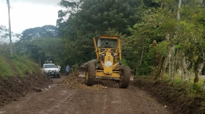 Reparación del tramo Sisle-Mojón-La Reforma-Antioquía en Jinotega