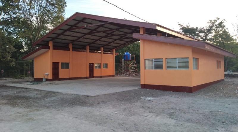 Nueva estación de bomberos en Achuapa