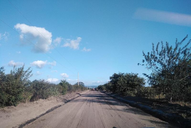 Una de las seis  calles en el barrio Solingalpa de Matagalpa