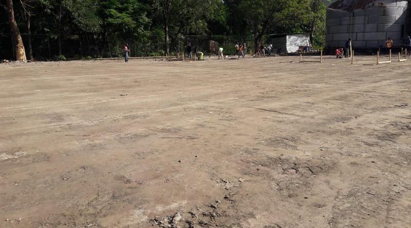 En Achuapa se realizaron obras de terracería en área donde será la estación de bomberos