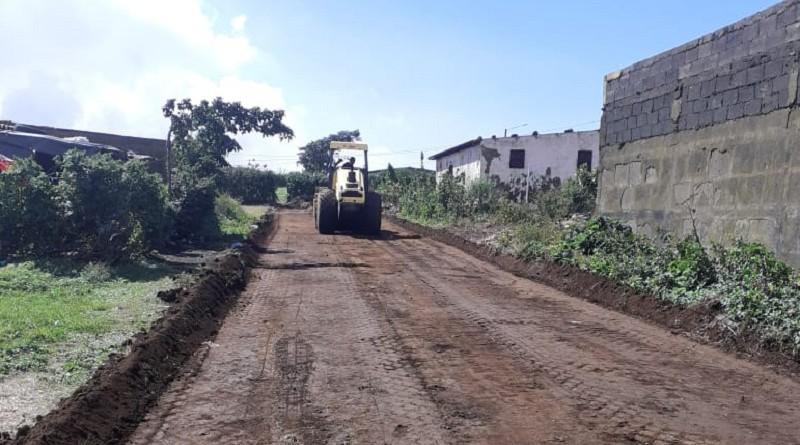 Catorce calles de macadán se inaugurarán en El Crucero