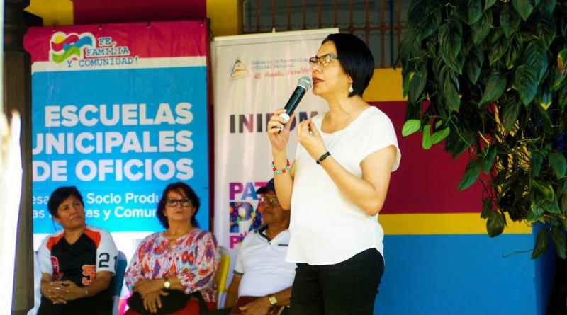 Directora  ejecutiva del Inatec, Loyda Barreda
