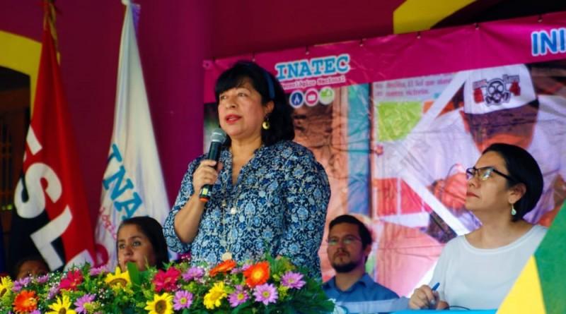 Directora de Planificación Municipal del inifom, Maritza Ruíz