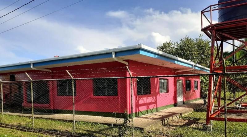 El gobierno local mejoró la casa materna de Laguna de Perlas.
