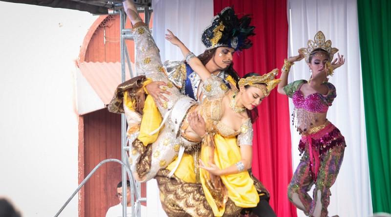 La Cabeza del Rawi, poema de Rubén Darío representado a través del ballet en la Ciudad Natal