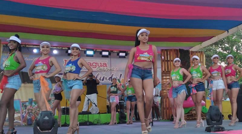 En el certamen nacional el año pasado en Poneloya donde participaron las candidatas departamentales del país