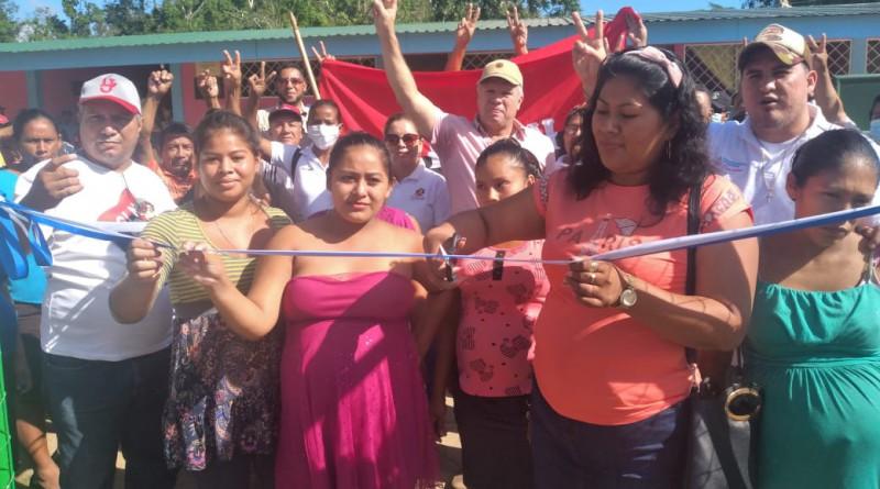 Rosita: Inauguración de las mejoras en la casa materna