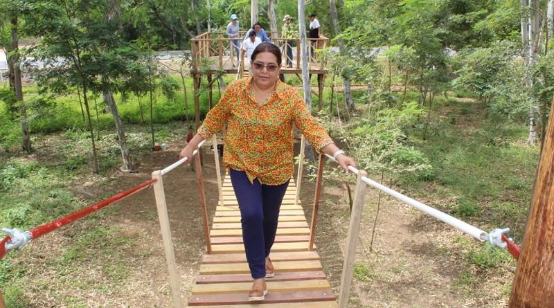 En el parque natural