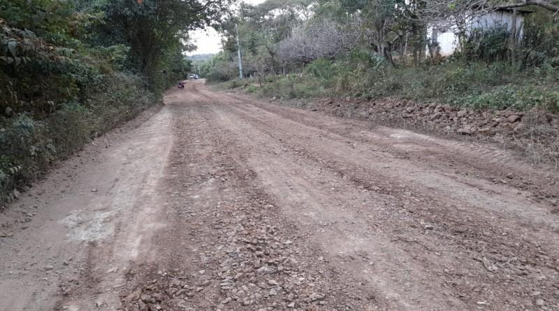 Nandaime: Inicio reparación de de camino en Monte Grande Occidental