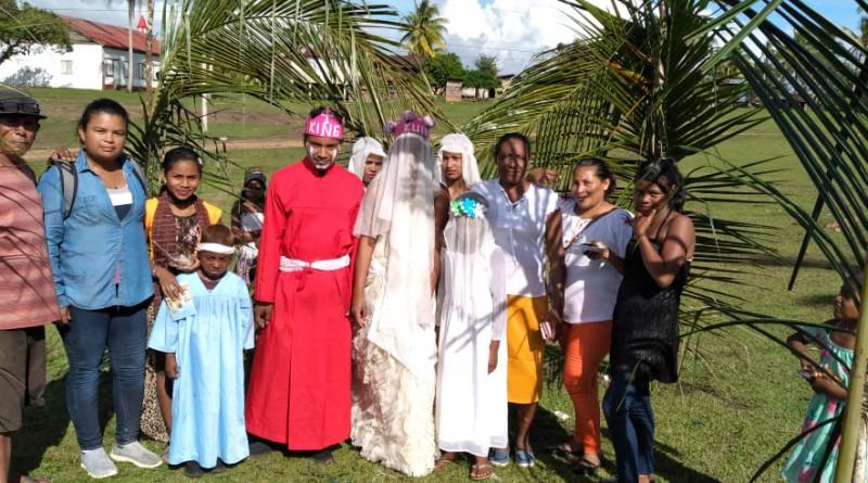 Waspán preserva  la cultura ancestral con el King Pulanka y el Dixe o Maskared