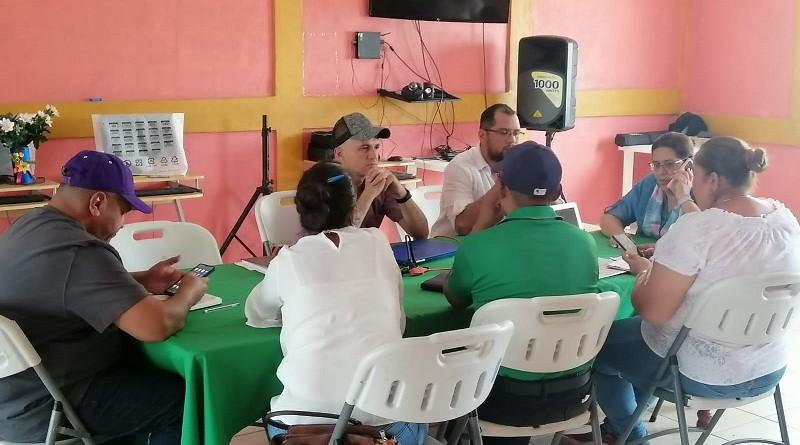 En reunión con el equipo municipal