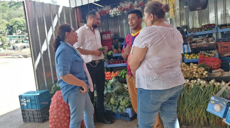 El comerciante Luis Rodríguez expresó que el gobierno local atiende con prontitud las gestiones del sector