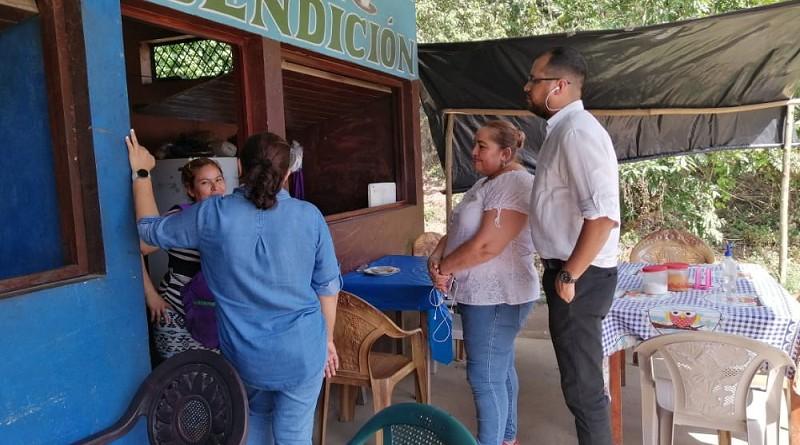 En el Restaurante La Bendición, Blanca Anelis Zeledón su dueña, externó que las ventas van prosperando.