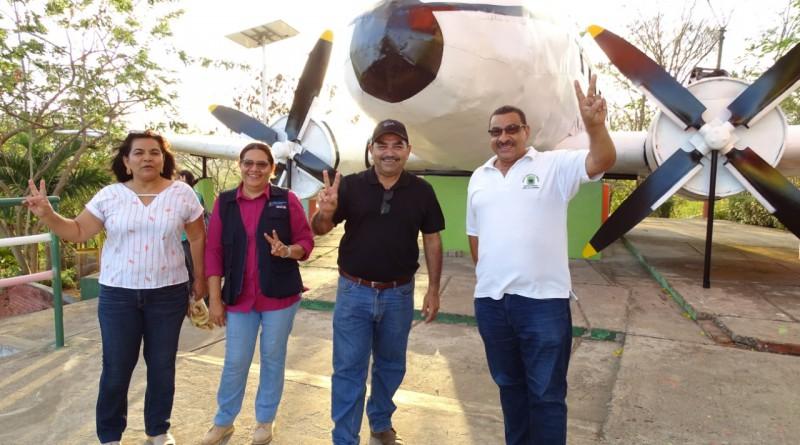 Parque Mirador El Avión  entre las infraestructuras que visitó presidenta del inifom en Condega