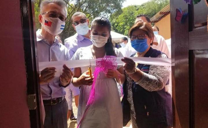 Inauguran importantes mejoras en la casa materna de Condega