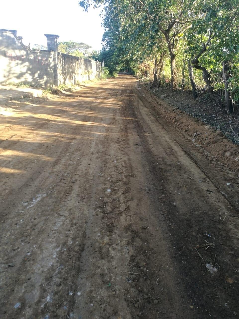 Elgobierno local de San Rafael del Sur lo hizo en 5 kilómetros, en las comunidadesLa Junta Sur, Los Narváez y Los Espinocitas.